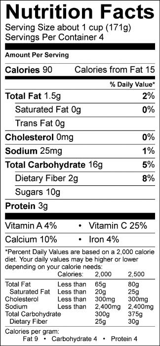 Blueberry Tofu Smoothie