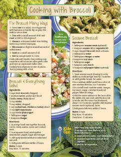 Food Hero Monthly Broccoli Page 2