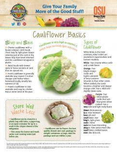 Cauliflower Basics