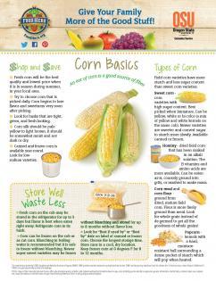 Food Hero Monthly Cover Corn