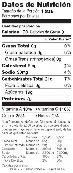 Yogur Bebible