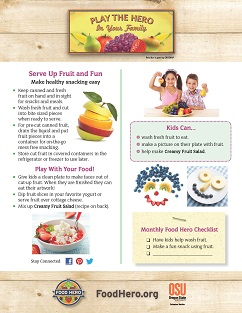 Food Hero Monthly Cover Fruit