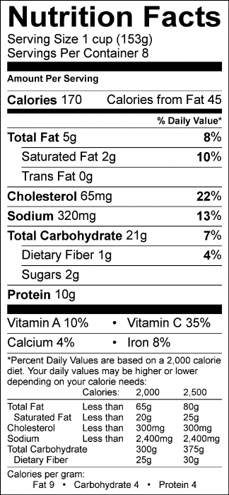 Photo for Nutrition Facts