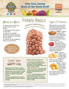 Food Hero Monthly Cover Potato