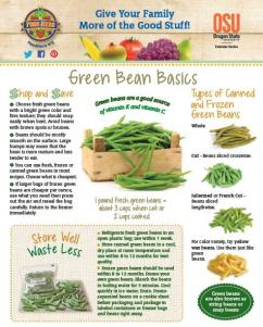 Food Hero Monthly Cover Green Bean