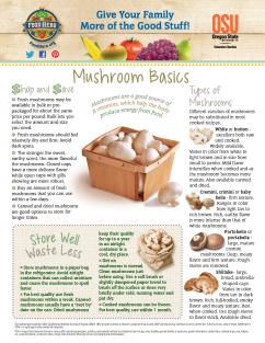 Food Hero Monthly Cover Mushroom