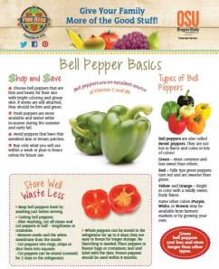 Food Hero Monthly Cover Bell Pepper