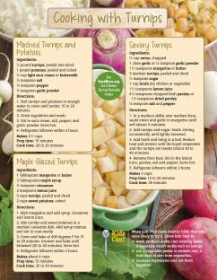 Food Hero Monthly Turnip Page 2