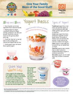 Food Hero Monthly Cover Yogurt