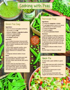 Cooking with Peas