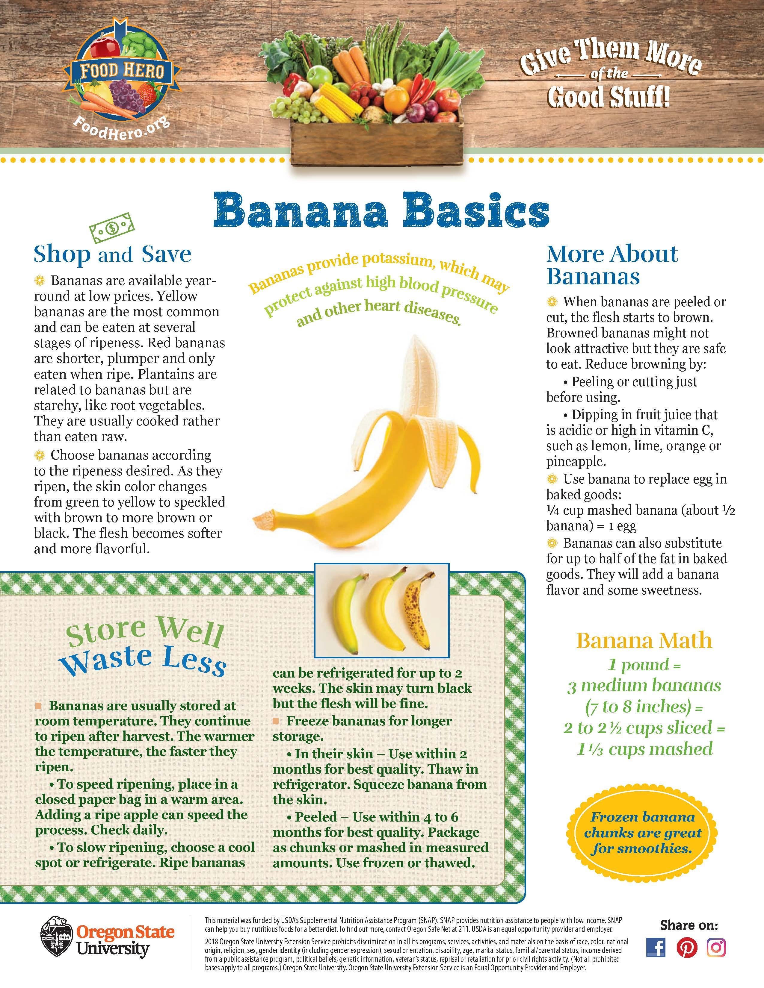 Banana Food Hero Monthly
