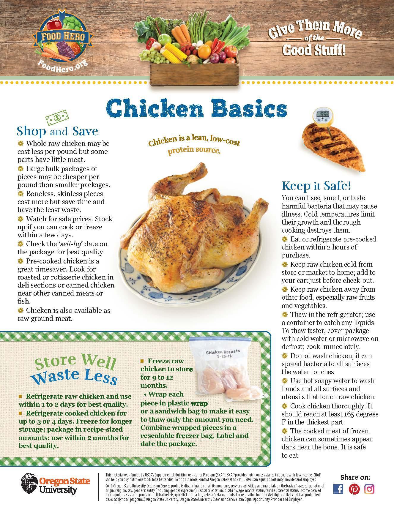 Chicken Food Hero Monthly