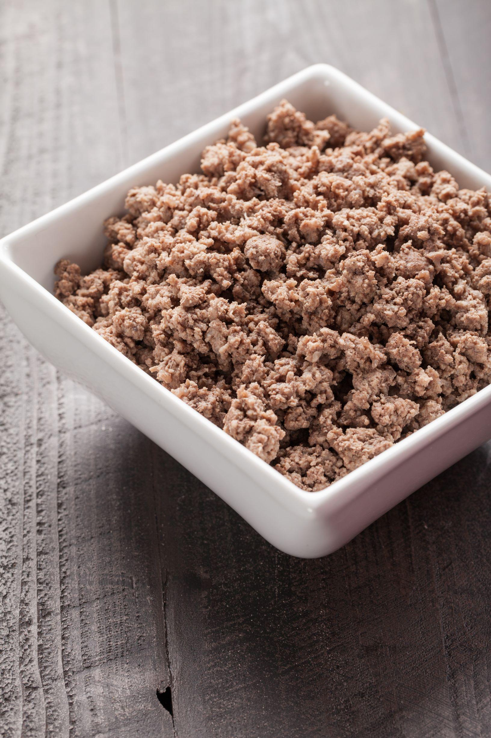 Thaw Ground Beef Safely Food Hero