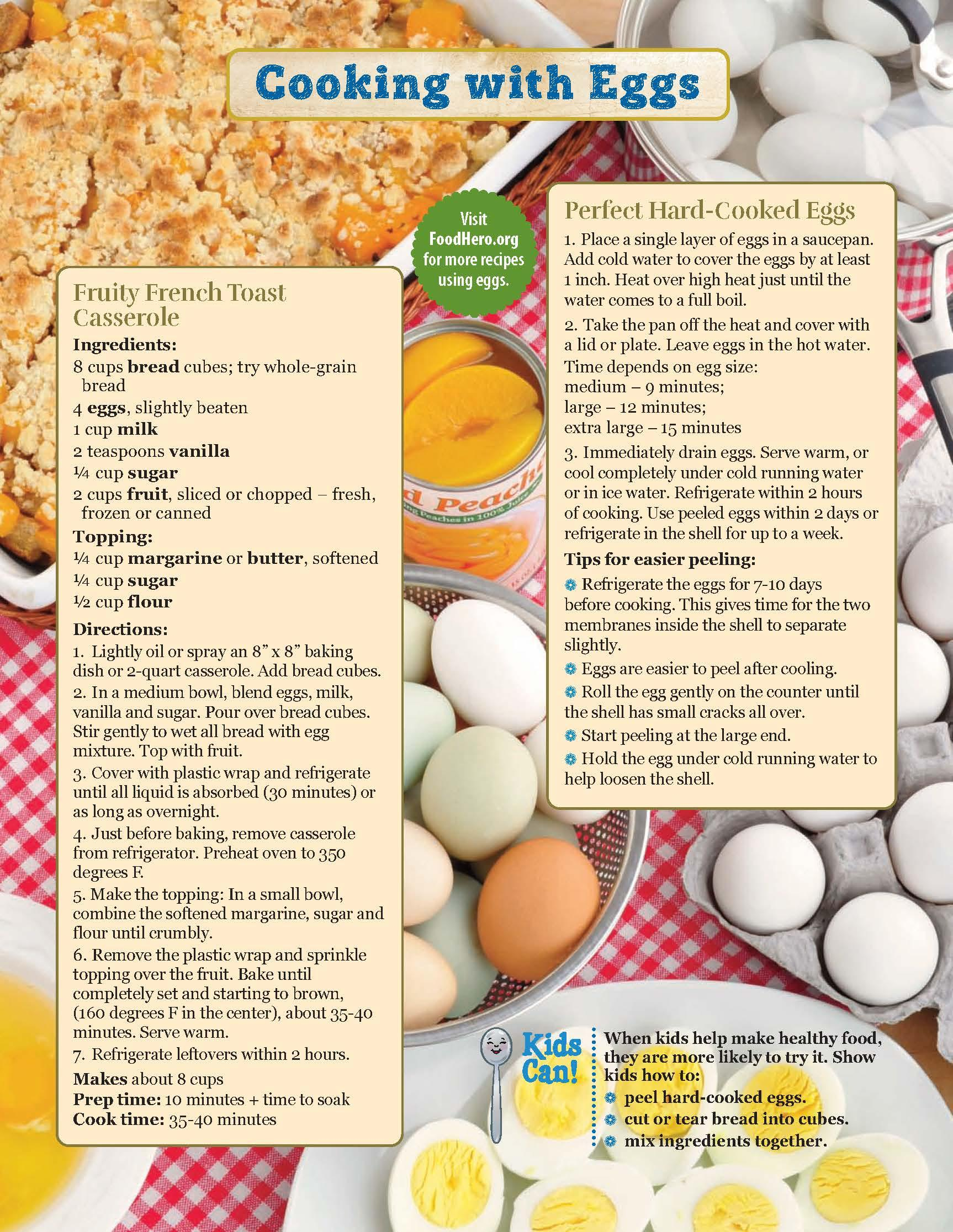 Eggs Food Hero Monthly Page 2