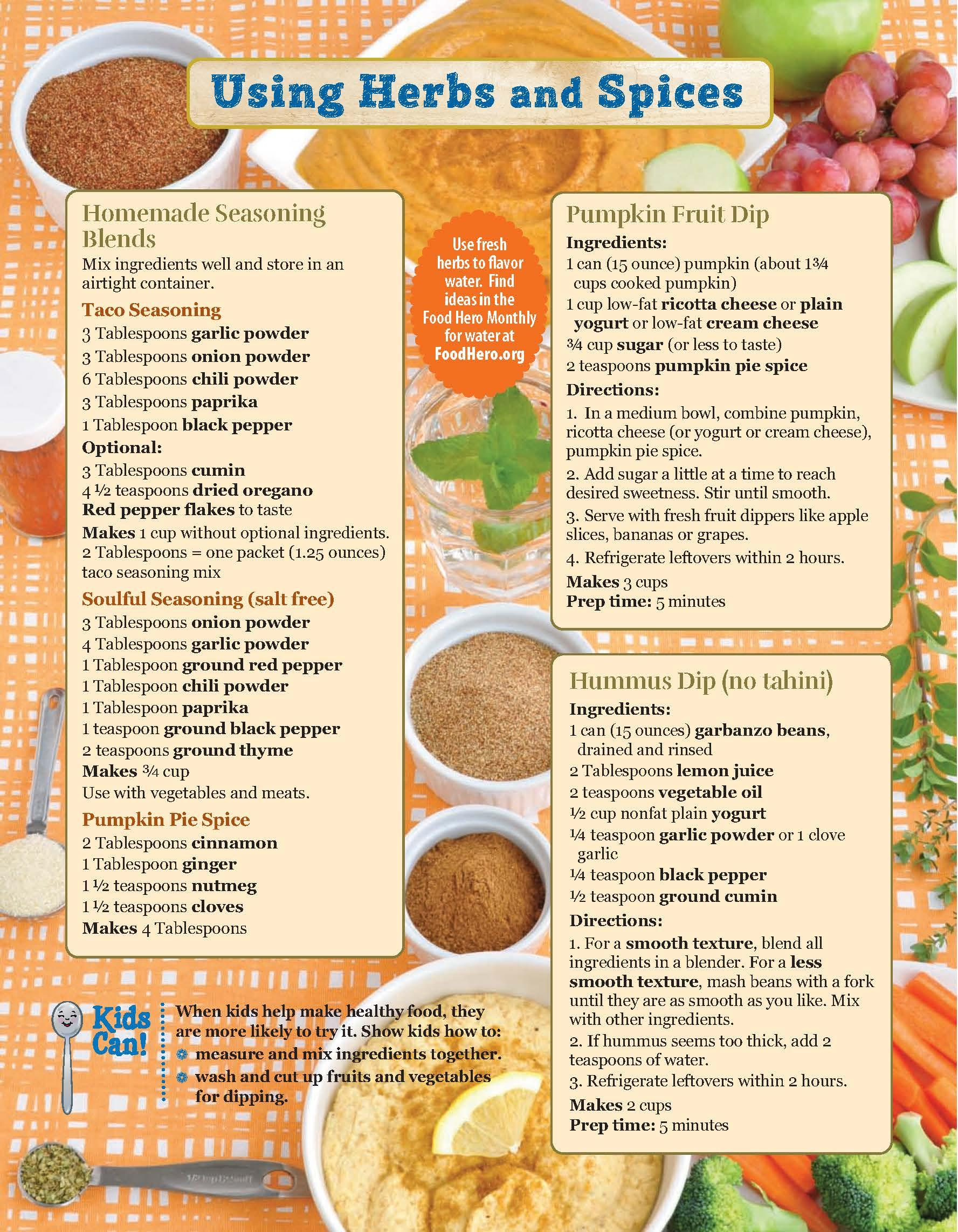 Herbs and Spices Monthly Page 2