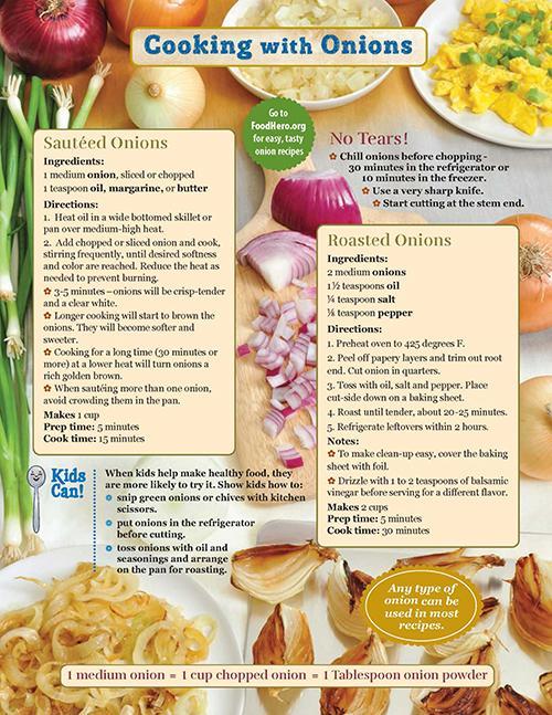 Onion Food Hero Monthly