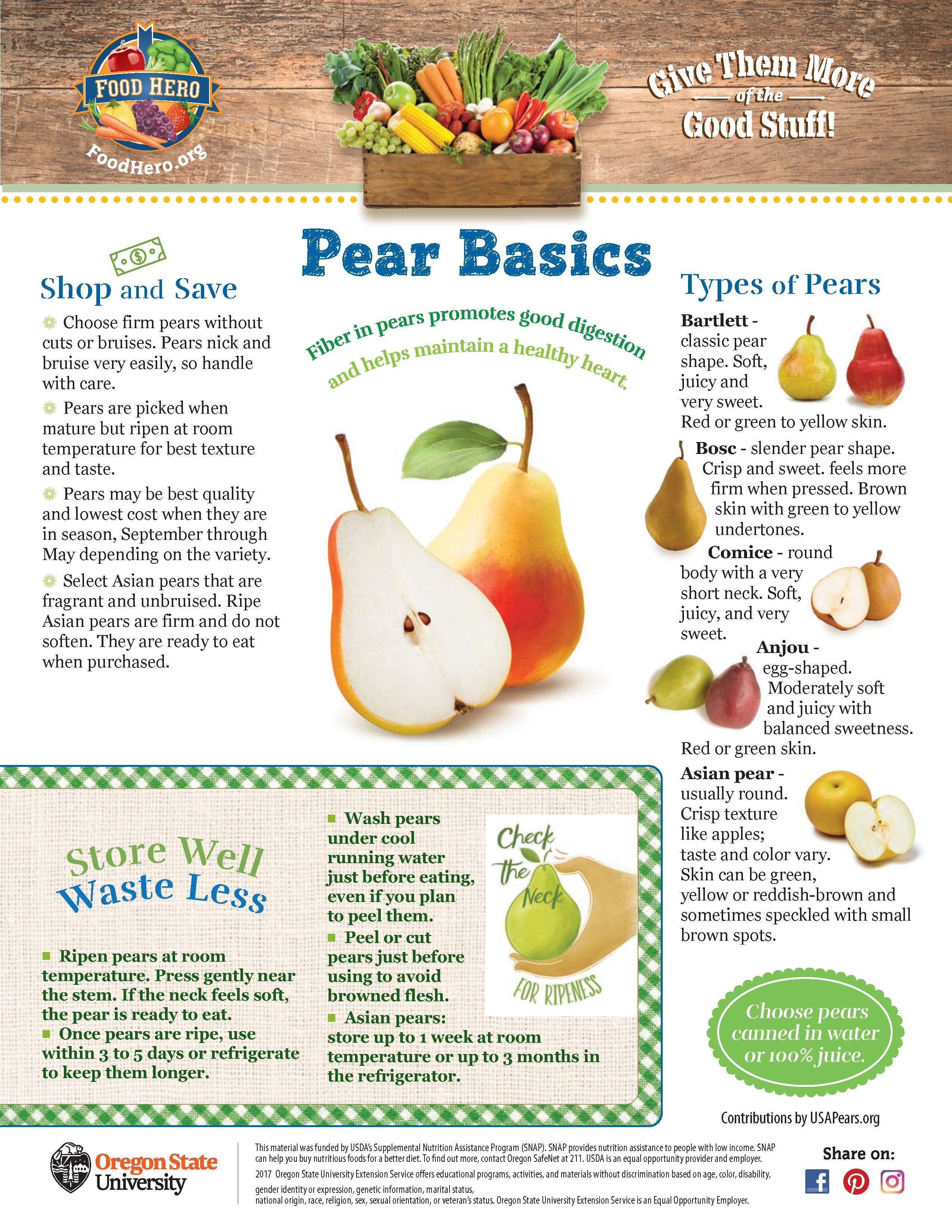 Pear Food Hero Monthly