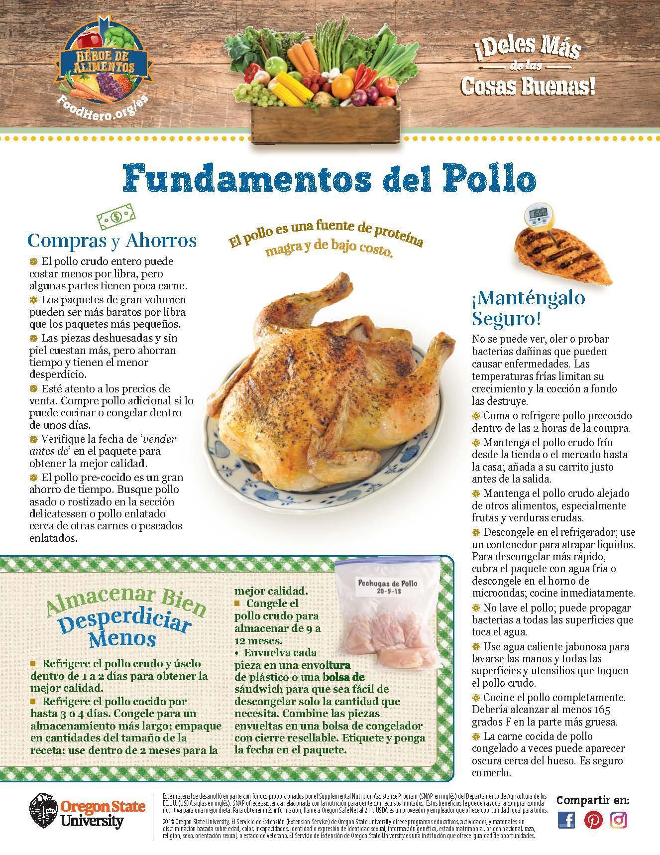 Pollo - Compras y Ahorros