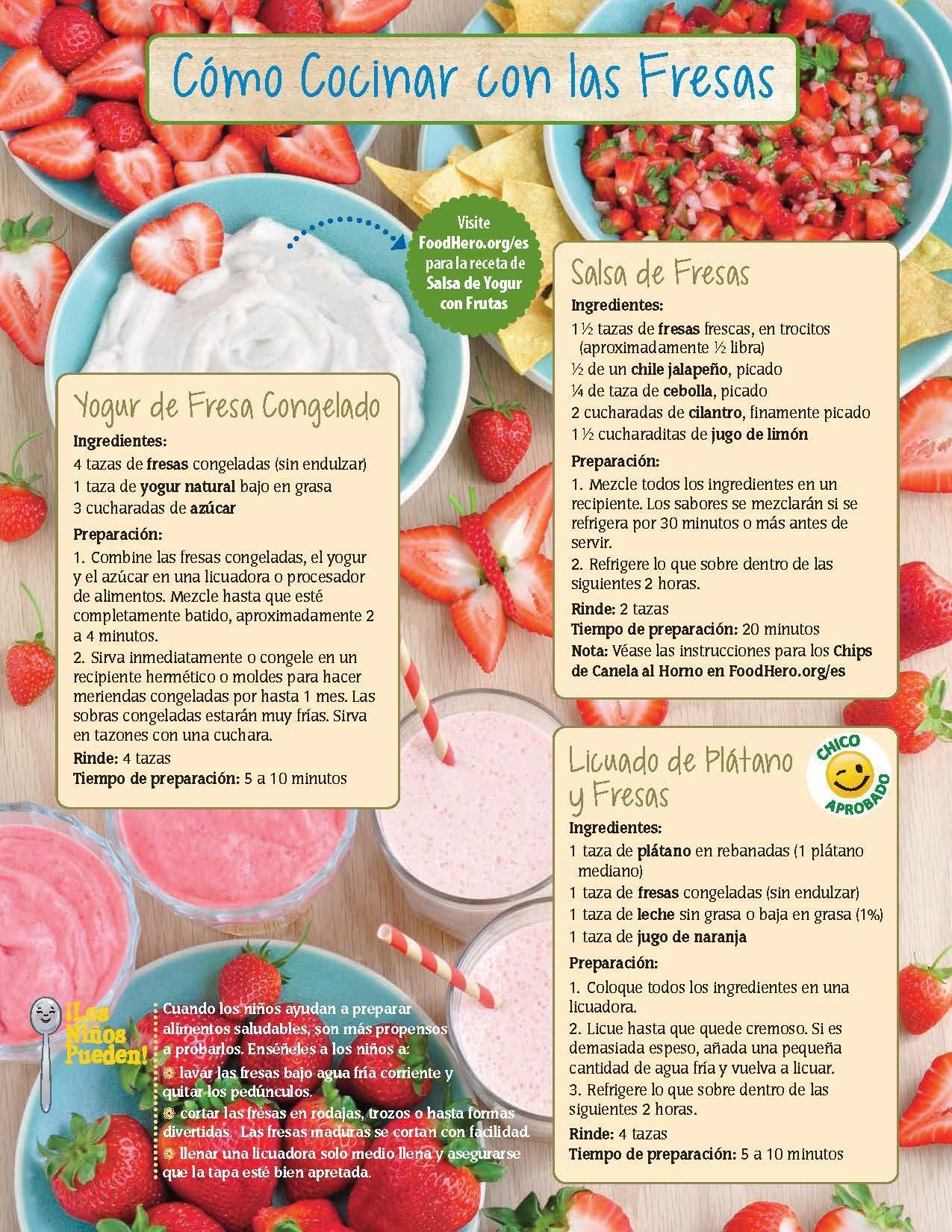 Fresas - Los Niños Pueden