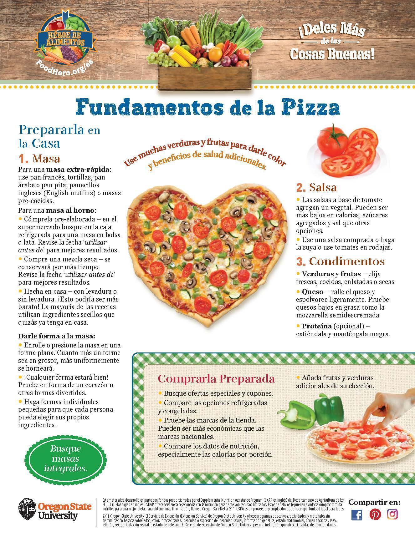 Pizza - Prepararla en la Casa