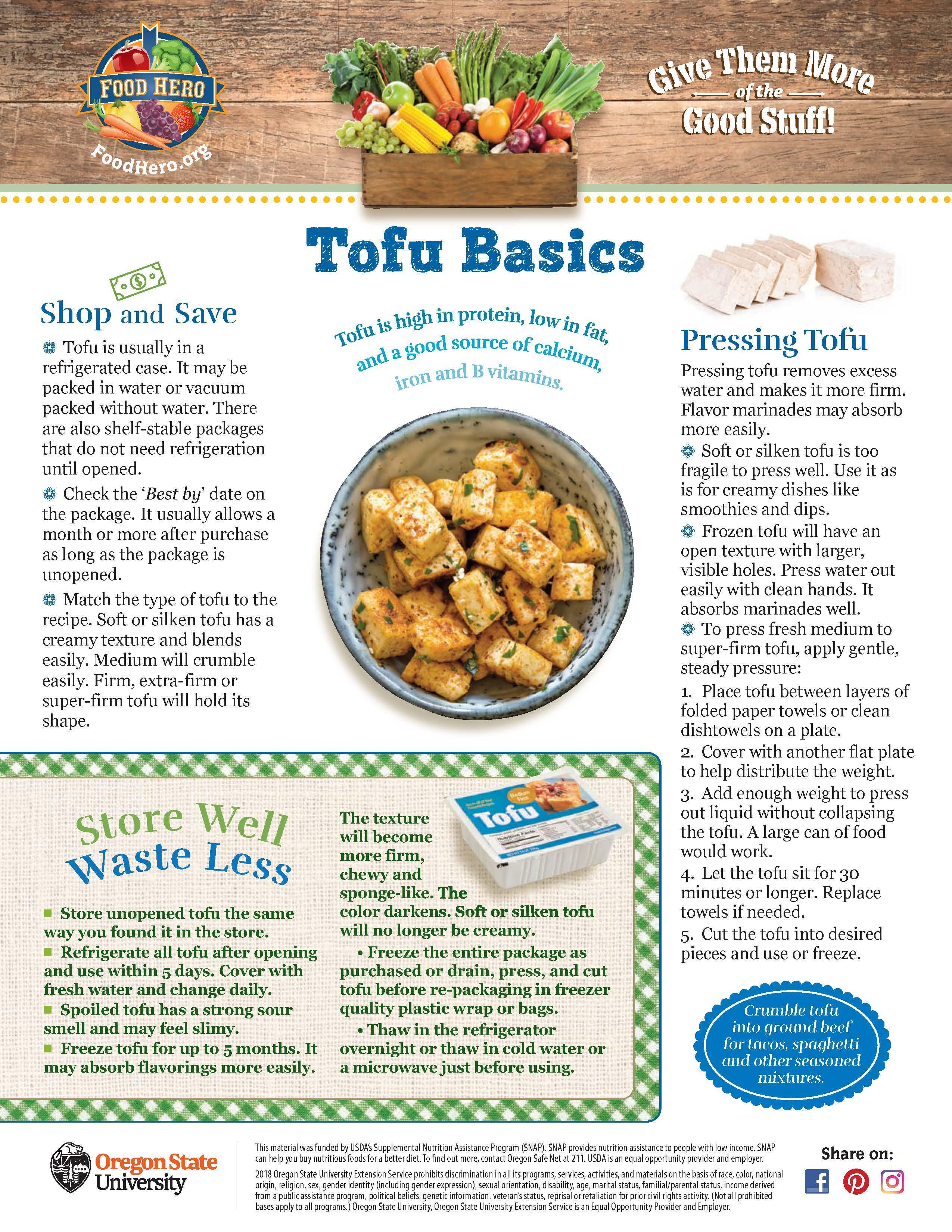 Tofu Food Hero Monthly