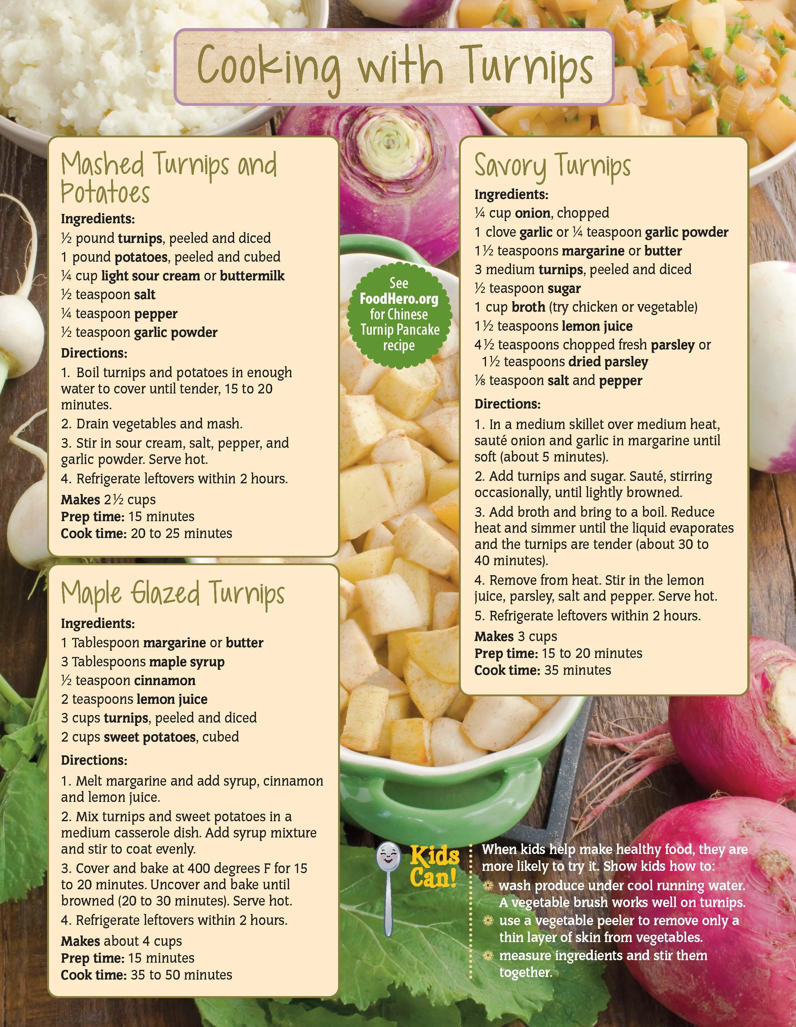 Turnips Food Hero Monthly