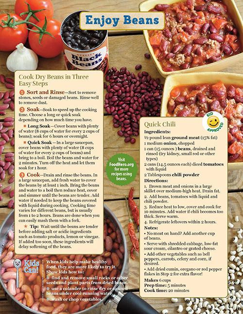 Beans Food Hero Monthly