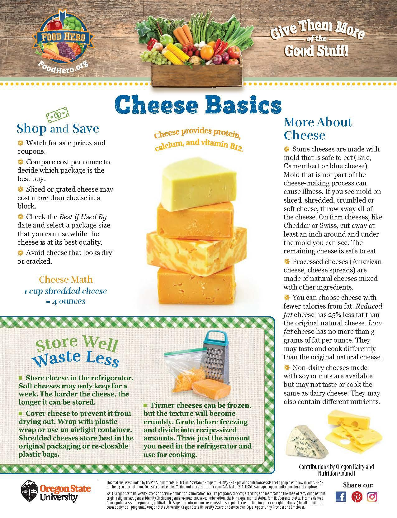 Cheese Food Hero Monthly