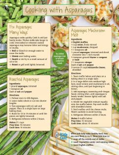 Food Hero Monthly Asparagus Page 2