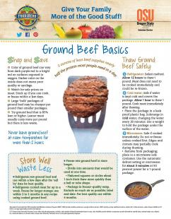 Food Hero Monthly Ground Beef Page 1