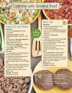 Food Hero Monthly Ground Beef Page 2