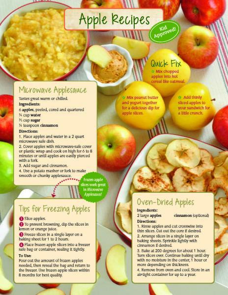 Microwave Applesauce | Food Hero