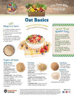 Oats Food Hero Monthly