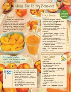 Using Peaches