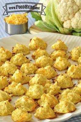 Photo of Baked Cauliflower Tots