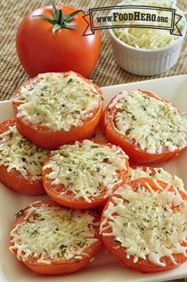 Foto de Tomates con Queso al Horno