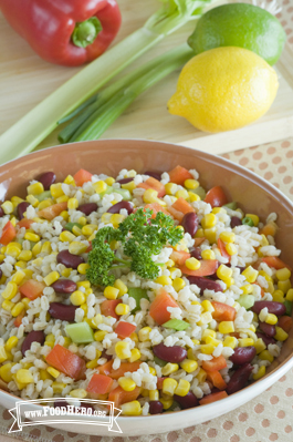 Photo of Barley, Bean and Corn Salad