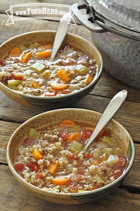 Foto de Sopa de Cebada con Carne