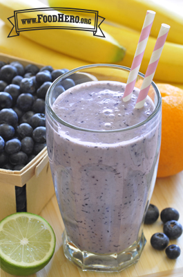 Photo of Blueberry Tofu Smoothie