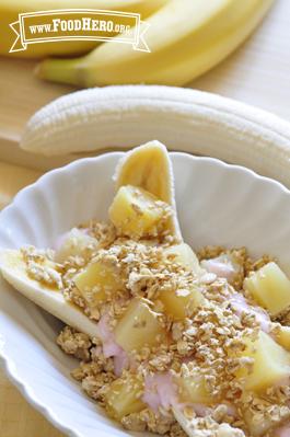 Foto de Banana Split Para el Desayuno