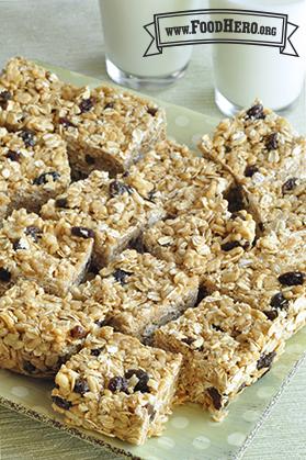 Foto de Barras de Crema de Cacahuate y Cereal
