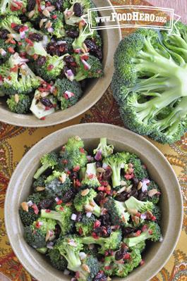 Foto de Ensalada de Brócoli y Pasas