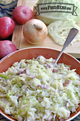Red Potato and Cabbage (Colcannon)