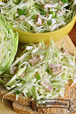Photo of Tuna Cabbage Salad