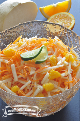 Photo of Carrot, Jicama and Orange Salad