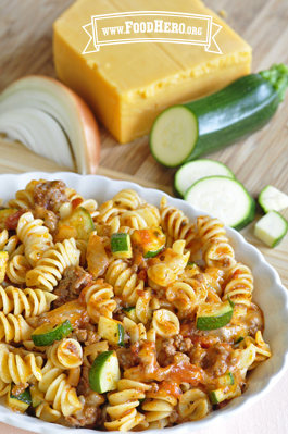 Photo of Cheesy Beef Pasta