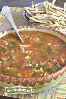 Foto de Sopa de Enchilada de Pollo