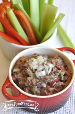 Photo of Chunky Black Bean Dip