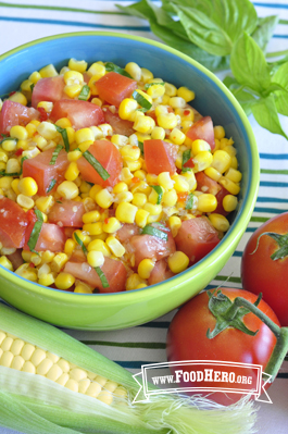 Photo of Corn and Tomato Salad