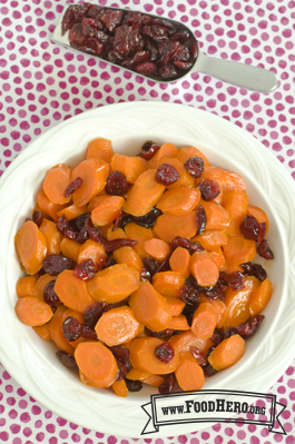 Photo of  Glazed Carrots and Cranberries